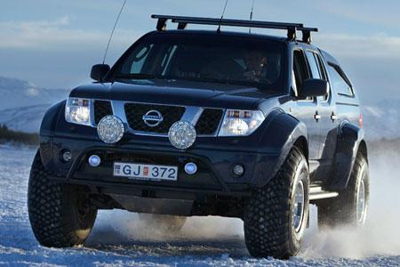 Nissan Navara Iceland