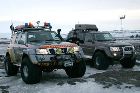 Nissan Pathfinder Iceland