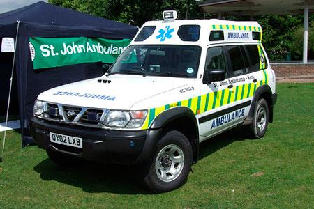 Nissan Patrol (Inglaterra)