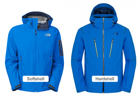 Softshell vs Hardshell
